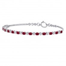 THE ALLURING RUBY BRACELET