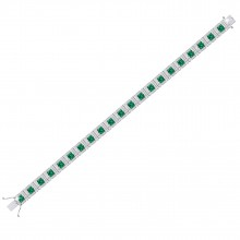 THE EBULLIENT EMERALD BRACELET