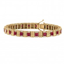 THE EBULLIENT RUBY BRACELET