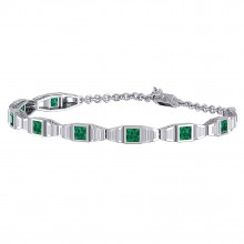 THE TROPSE EMERALD BRACELET