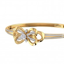 THE INFINITY LOVE KNOT SOLITAIRE BRACELET