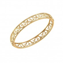 THE SOFIA PAISLEY BANGLE