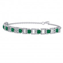 THE EVER-PREEN EMERALD BRACELET
