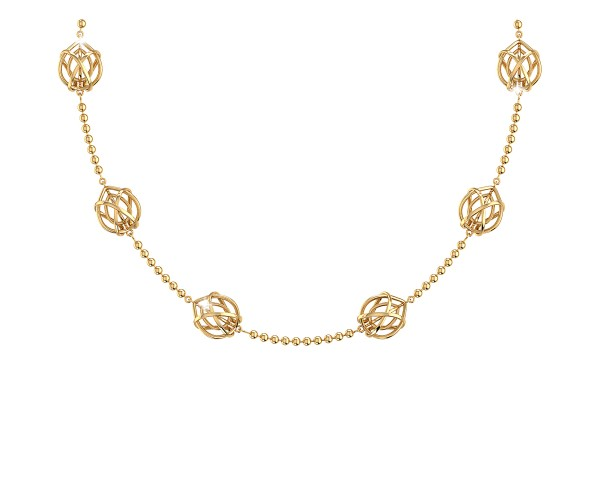THE TWISTED GLEAM GOLD CHAIN