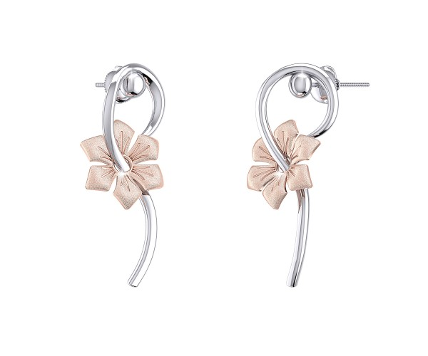 THE BLUSH IN BLOOM EARRINGS