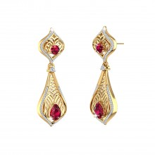 THE RUBY REGALIA EARRINGS
