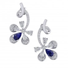 THE SAPPHIRE FLAME STUDS