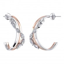 THE GLITTER CASCADE HOOPS