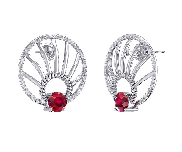 THE RUBY SPECTRE STUDS