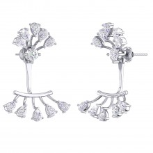 THE CHIC FAN EARRINGS