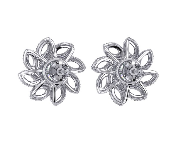 THE SWIRLING SOLITAIRE STUDS
