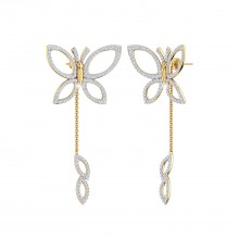 THE DALLIANCE BUTTERFLY EARRINGS