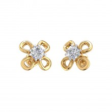 THE FOUR LEAF CLOVER STUDS