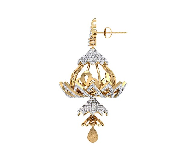 THE NAWAZISH BELL EARRINGS
