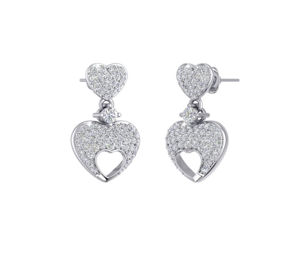 THE MICKEY LOVE DROP EARRINGS
