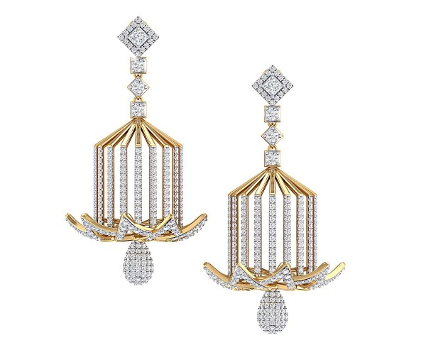 THE MUKHTALIF BELL EARRINGS