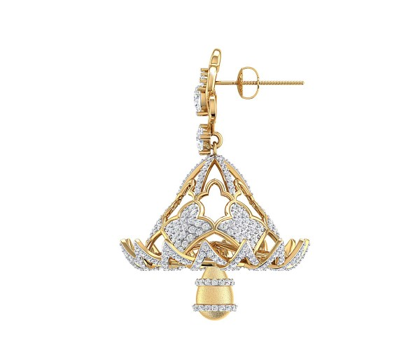 THE MUNTASHIR BELL EARRINGS