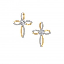 THE ALLEN CROSS EARRINGS