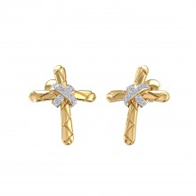 THE AMAZE CROSS EARRINGS