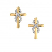 THE AMELIA CROSS EARRINGS