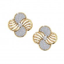 THE GYRE STUD EARRINGS