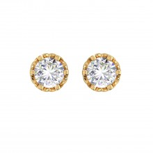 THE PRINCESS DIAMOND STUDS