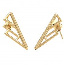 THE STEPPE GOLD STUDS