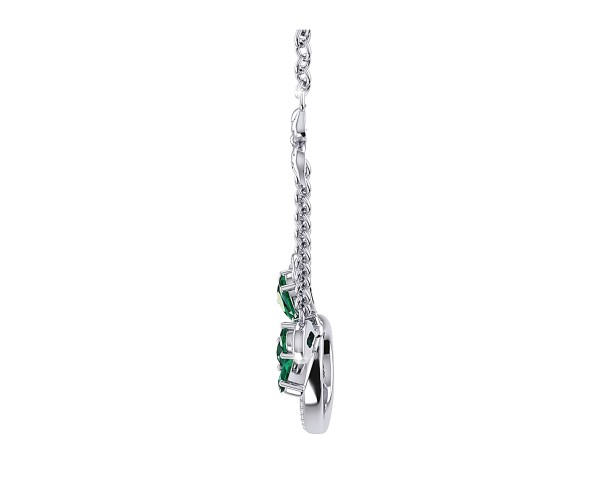 THE GREEN FLAME NECKLACE