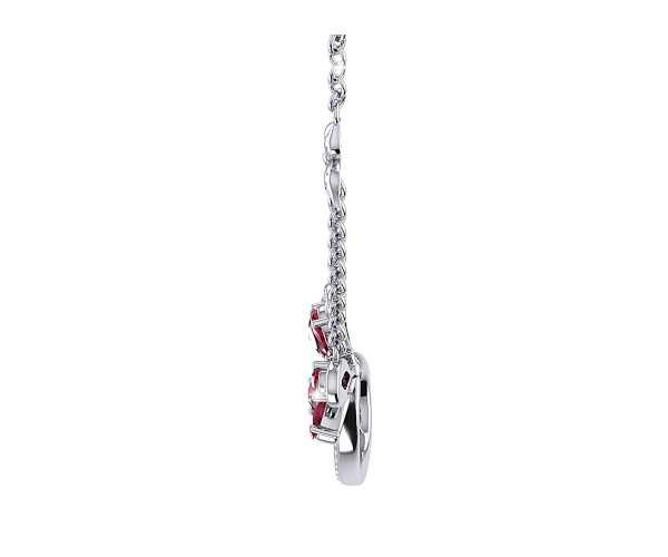 THE RED FLAME NECKLACE