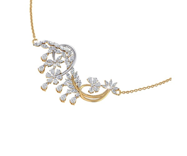 THE SPARKLING FLOWERS NECKLACE