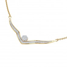 THE PLUSH DIAMOND NECKLACE