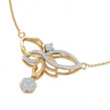 THE FLORA FLAME NECKLACE