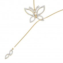 THE DALLIANCE BUTTERFLY NECKLACE