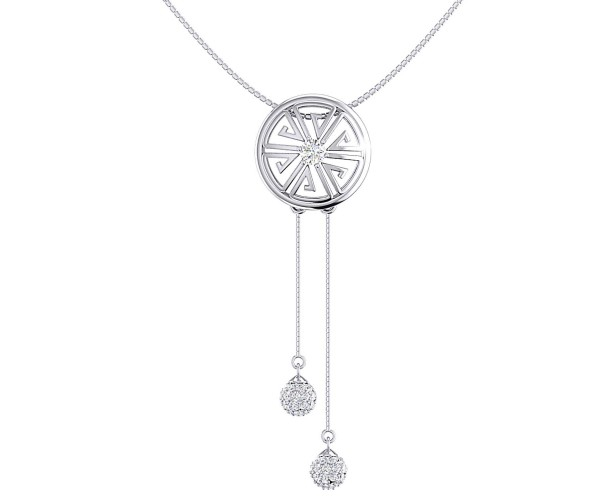 THE SUN DIAL NECKLACE