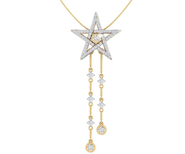 THE SPARKLING STAR NECKLACE