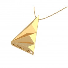 THE SHIMMER WEDGE PENDANT