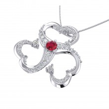 THE RED LOVE PENDANT