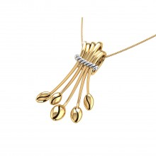 THE GOLDEN BUNCH PENDANT