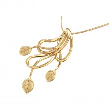 THE ASTORIA GOLD PENDANT