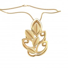 THE GOLDEN BUSH PENDANT