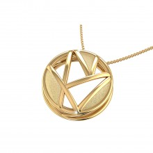 THE PARABOLA CASTER PENDANT