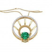 THE EMERALD SPECTRE PENDANT