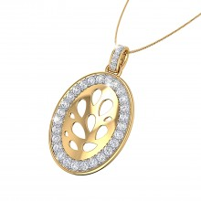 THE OVAL MITRA PENDANT