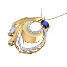 THE FLOATING WHORL PENDANT