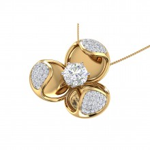 THE MAGNOLIA SOLITAIRE PENDANT