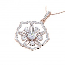 THE PANSY SOLITAIRE PENDANT