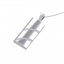 THE ICE SLICE PENDANT