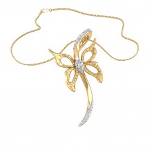 THE BUTTERFLY SPEAR PENDANT