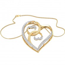 THE TWIRLING HEARTS PENDANT
