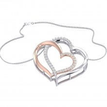 THE ENTANGLED HEARTS PENDANT